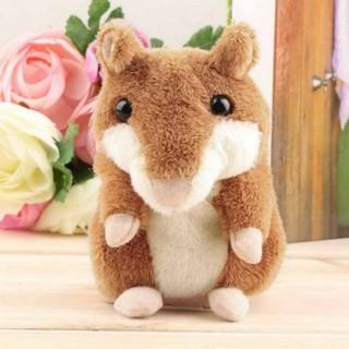 Lovely Talking Hamster Plush Toy Hot Cute Speak Talking Sound Record Toy