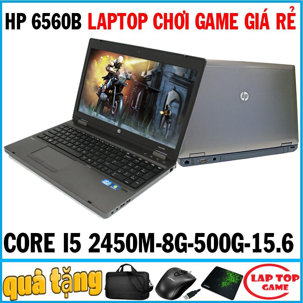 laptop chơi game giá rẻ HP 6560B CORE i5 2450M- laptop cũ chơi game đồ họa cơ bản