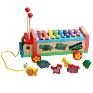 Ô tô thả hình con vật kèm đàn xylophone