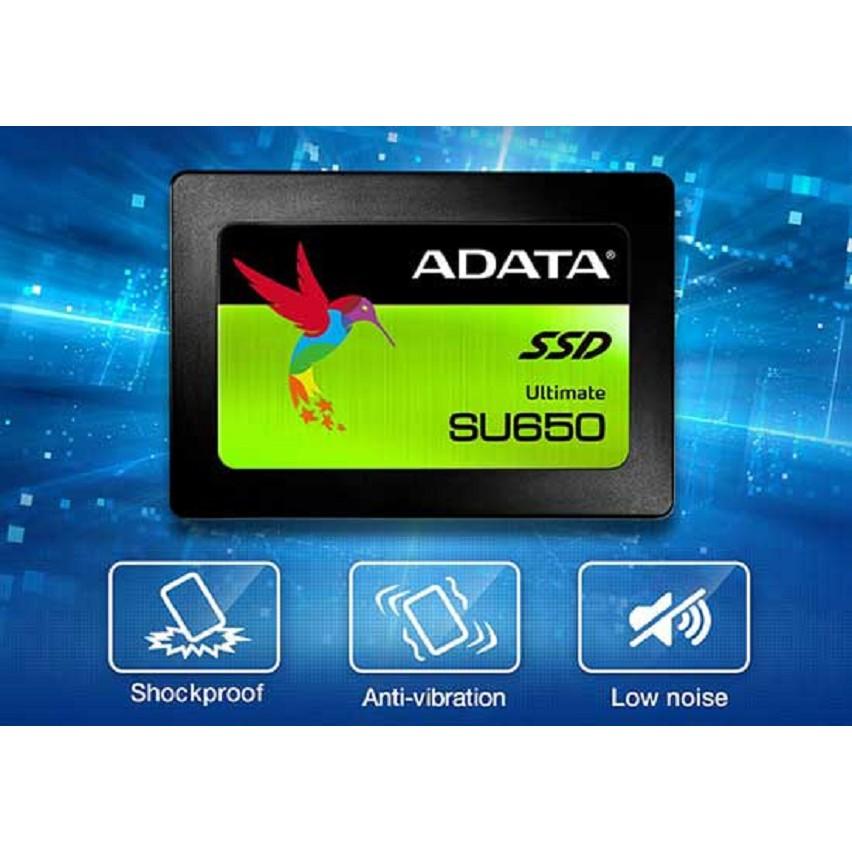 Ổ Cứng SSD Adata 120GB Chính Hãng Sata III SU650