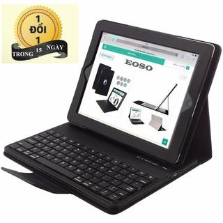 Bao da Bàn phím Bluetooth cho iPad 2 3 4 [HÀNG NHẬP KHẨU]