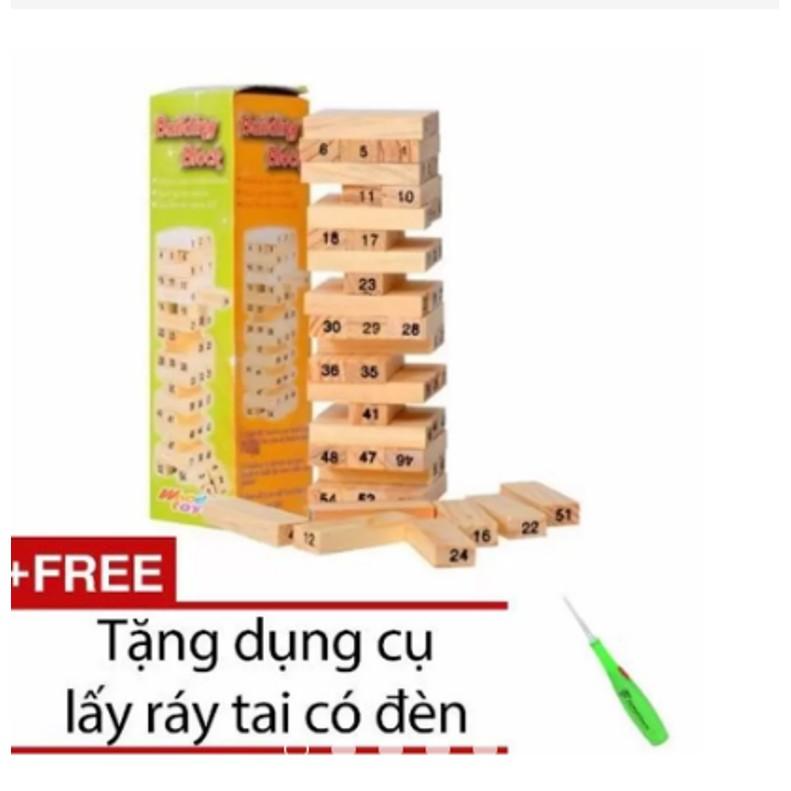 Trò chơi rút gỗ 54 thanh + Tặng dụng cụ lấy ráy tai có đèn - 3313769 , 708646833 , 322_708646833 , 55000 , Tro-choi-rut-go-54-thanh-Tang-dung-cu-lay-ray-tai-co-den-322_708646833 , shopee.vn , Trò chơi rút gỗ 54 thanh + Tặng dụng cụ lấy ráy tai có đèn