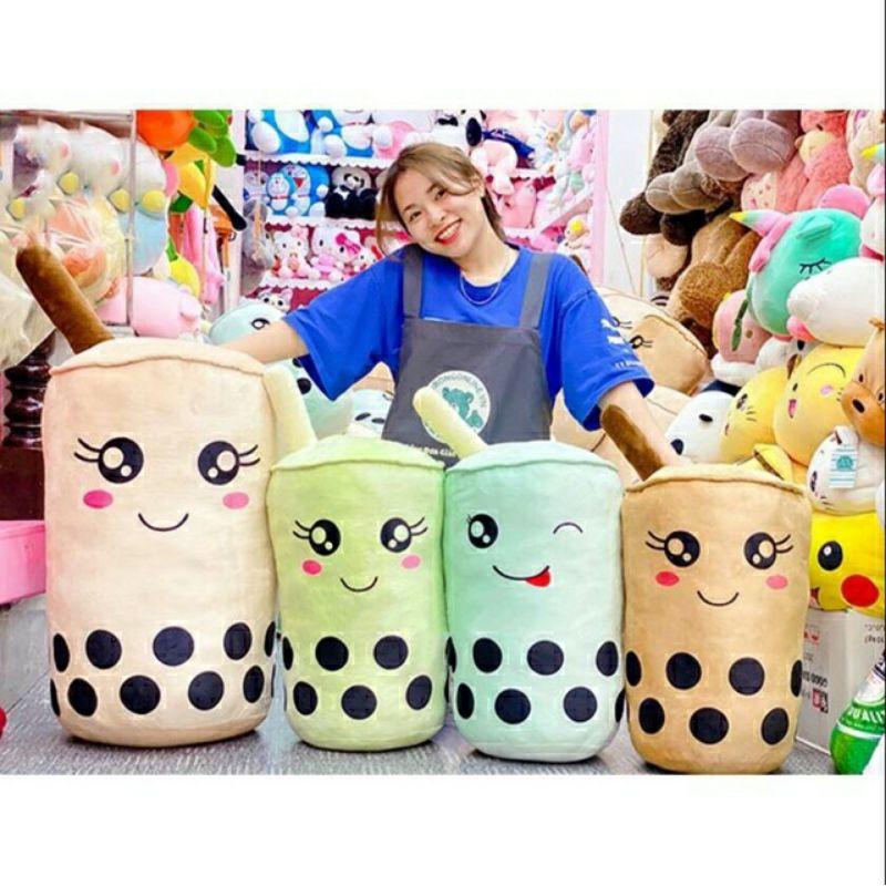 Gấu bông trà sữa chân trâu mini
