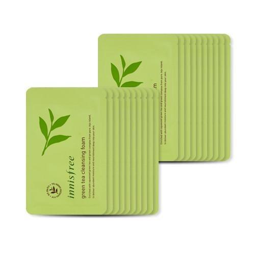Combo 10 Sample sữa rửa mặt Innisfree Green Tea Cleansing foam _ 4ml - 2523406 , 711710525 , 322_711710525 , 70000 , Combo-10-Sample-sua-rua-mat-Innisfree-Green-Tea-Cleansing-foam-_-4ml-322_711710525 , shopee.vn , Combo 10 Sample sữa rửa mặt Innisfree Green Tea Cleansing foam _ 4ml