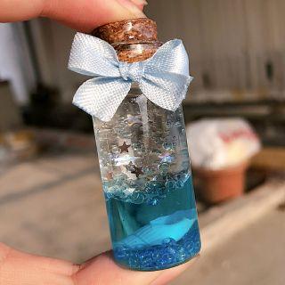 Lọ thủy tinh – charm bottle lavalamp (ảnh thật