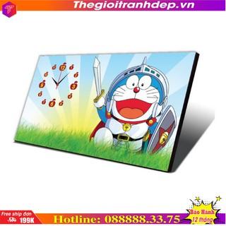 Đồng hồ bàn hoạt hình Doremon