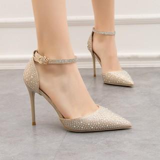 giày cao gót nữ mũi nhọn sang trọng