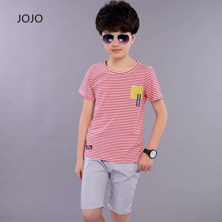 JOJO.vn 😘 a set of clothing Baby Korean suit Simple EnglandHandsome Avantgarde Breathable temperament Styling costume