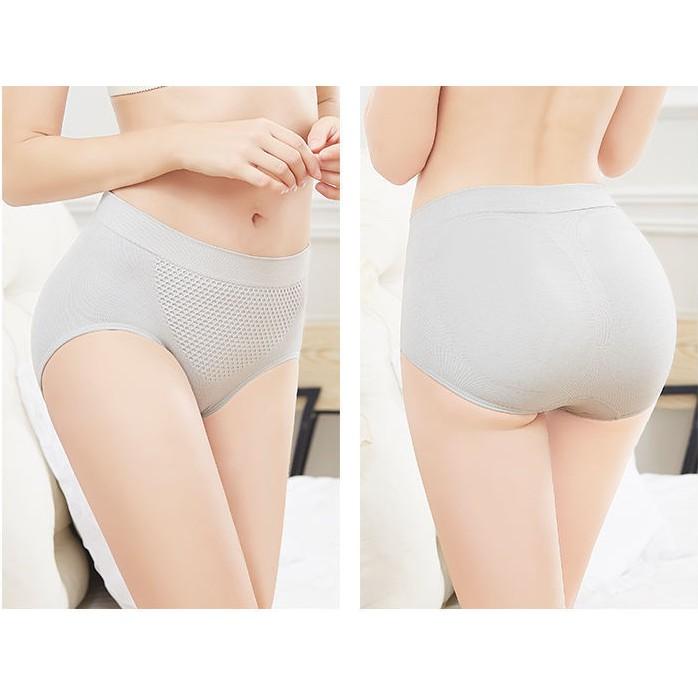 Quần Lót Nữ Cotton Cạp Cao Kháng Khuẩn Dễ Thương NHẬT BẢN OZAQA QL01 GOT Store