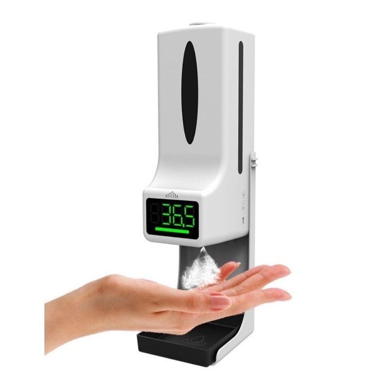 Máy khử khuẩn FREESHIPMáy Sát Khuẩn K9 Pro_Đo nhiệt độ_Rửa tay_Khử khuẩn_Cảm ứng tự động_Bảo hành 12 tháng
