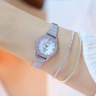 Đồng hồ nữ Bee Sister 1351 hàng chính hãng dây kim loại lắc tay