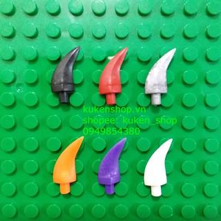 COMBO 10 Phụ Kiện Móng Vuốt Các Màu NO.288 – Phụ Kiện Lắp Ráp MOC