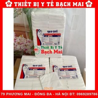 Bông Bạch Tuyết Cắt Miếng 01kg Vệ Sinh Cho Bé [10x10cm, 7x7cm] thumbnail