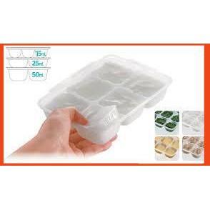 [Giá_Hot]Sản phẩm khay trữ đồ ăn dặm Richell 50ml (2 Khay)