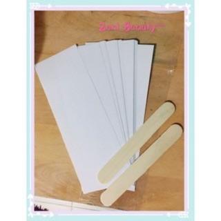 10 giấy wax tặng 2 que gạt thumbnail