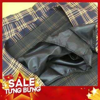【Special cheap】Girl plaid short A-line skirt -Hàng nhập khẩu