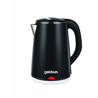 Ấm siêu tốc 2 lớp Goldsun GKT2602 dung tích 2,2L, tự động ngắt khi sôi hoặc cạn - Bảo hành 1 năm chính hãng