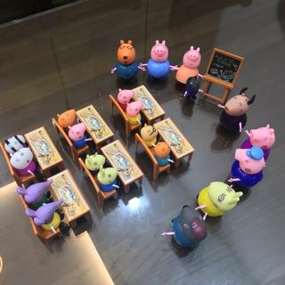 Đồ chơi hot – Lớp học Peppa Pig (21 nhân vật)