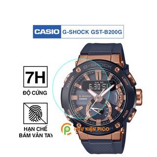 Cường lực đồng hồ Casio G-Shock GST-B200G độ cứng 7H chống trầy xước Dán màn hình Casio G-Shock GST-B200G thumbnail