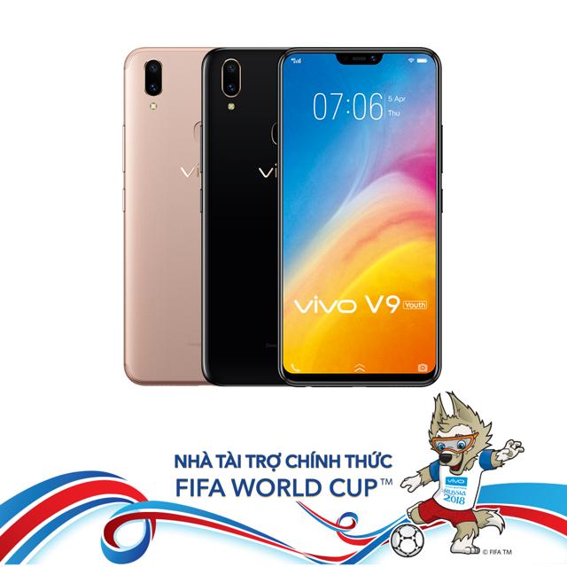 Điện thoại Vivo V9 Youth - Hàng chính hãng - 3548284 , 1176026571 , 322_1176026571 , 6990000 , Dien-thoai-Vivo-V9-Youth-Hang-chinh-hang-322_1176026571 , shopee.vn , Điện thoại Vivo V9 Youth - Hàng chính hãng