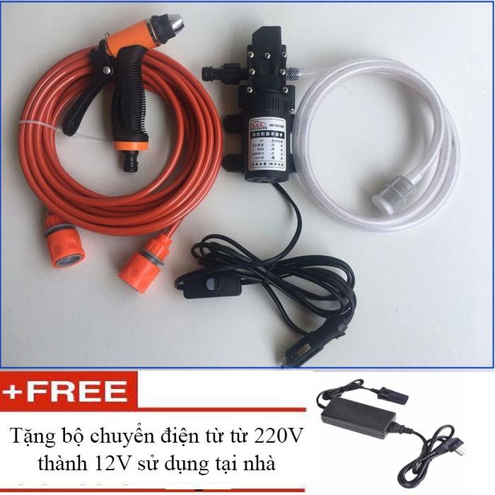 Máy rửa xe mini ô tô tăng áp 12V tặng Chuyển điện sử dụng tại nhà 220V - 3064936 , 1215365218 , 322_1215365218 , 569000 , May-rua-xe-mini-o-to-tang-ap-12V-tang-Chuyen-dien-su-dung-tai-nha-220V-322_1215365218 , shopee.vn , Máy rửa xe mini ô tô tăng áp 12V tặng Chuyển điện sử dụng tại nhà 220V