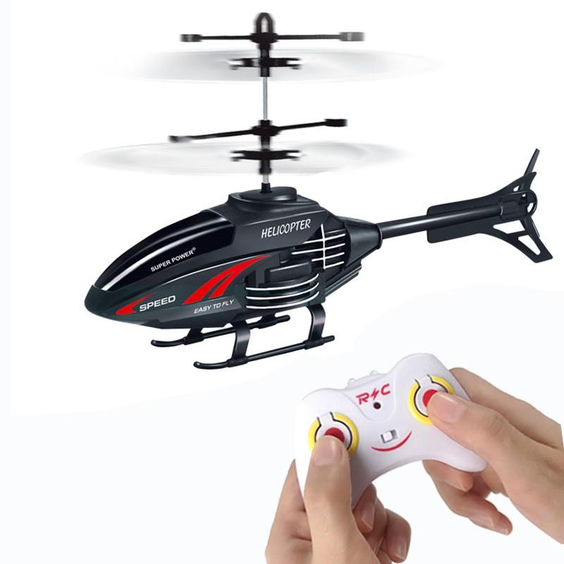 [Đồ chơi trẻ em] Máy bay điều khiển từ xa có đèn và cảm ứng