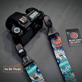 [CAMERA] Dây đeo thao tác nhanh Poly họa tiết thổ cẩm cho máy ảnh
