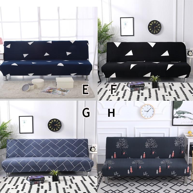 4. Áo bọc ghế sofa in họa tiết giản dị thanh lịch nhiều màu sắc tùy chọn