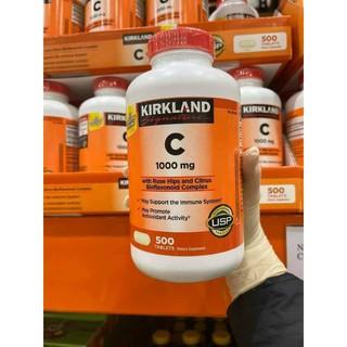 🌟 Viên uống Vitamin C 1000mg Kirkland 500 viên