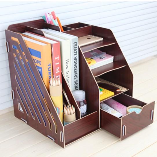 [Giá siêu tốt] Tủ gỗ đựng đồ văn phòng, đồ dùng cá nhân đa năng