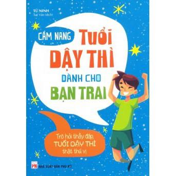 Sách - Cẩm Nang Tuổi Dậy Thì Dành Cho Bạn Trai