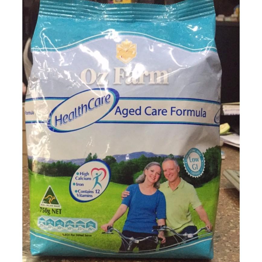 Sữa Oz Farm Health Care túi 750g (sữa bổ sung canxi cho người lớn)