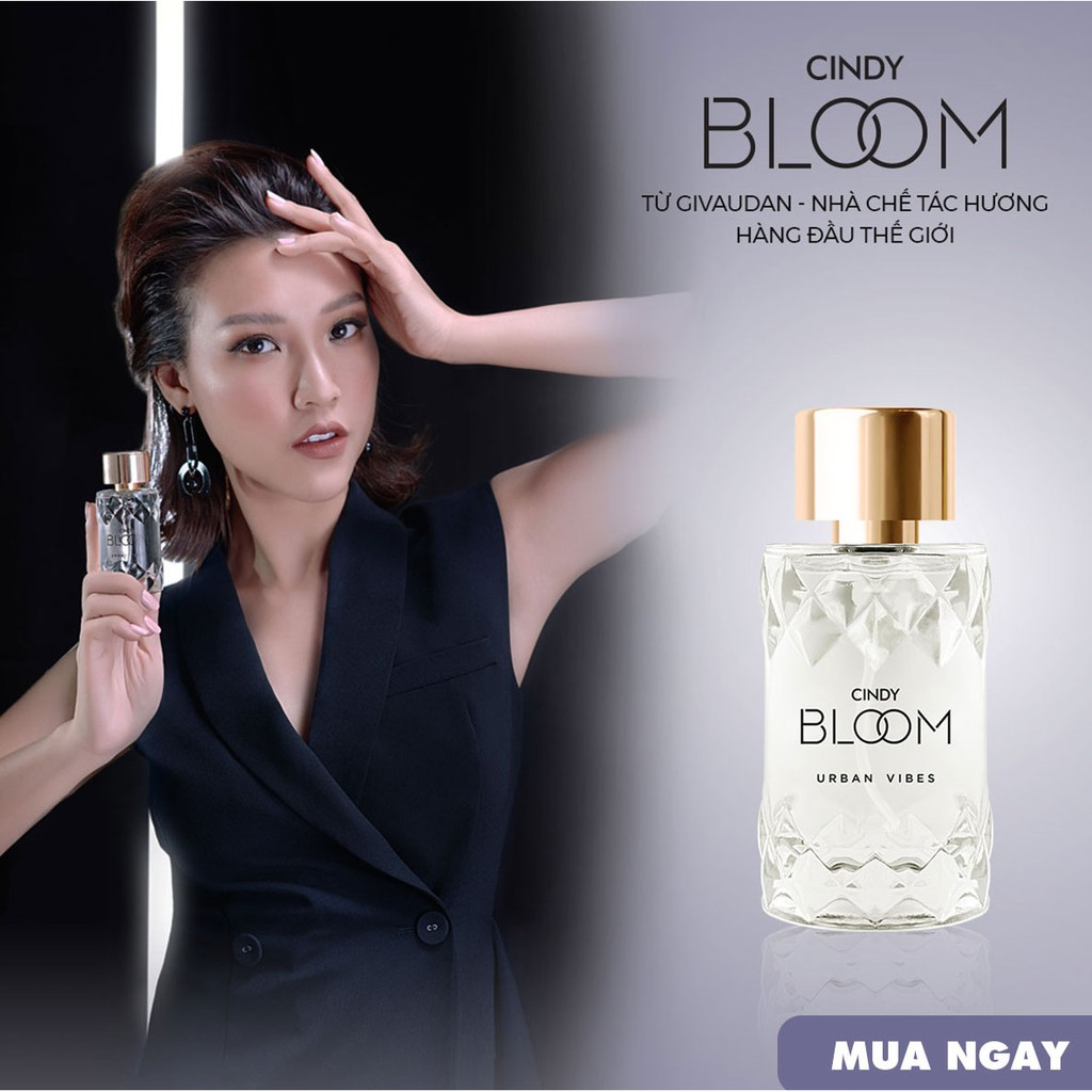 [Mua 2 giảm 20k]Nước Hoa Cindy Bloom Urban Vibes 10ml chính hãng