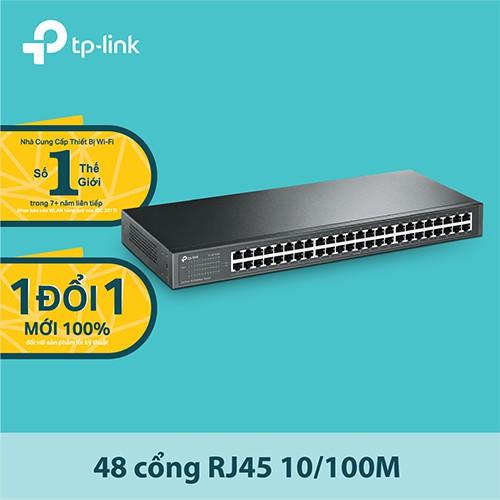TP-Link TL-SF1048 Switch Chia Tín Hiệu 48 cổng có giá treo 10/100Mbps - Hãng phân phối chính thức