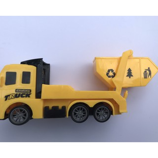 Mô hình xe tải đồ chơi dành cho bé size nhỏ có bánh đà, siêu ưu đãi 4