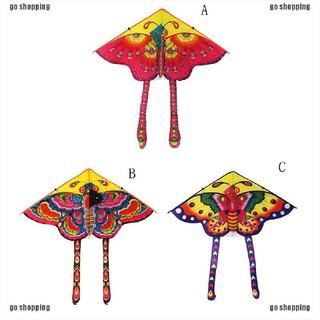 {go shopping}Huge 90cm Butterfly Kite Single Line Novelty Animal Kites Children's.Gift Toys