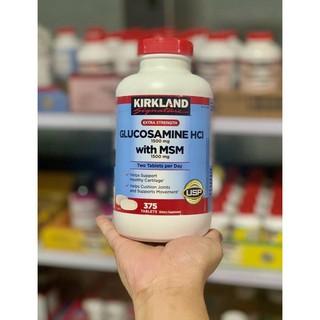 ✧♞❅🏃🏻♂️🏃🏻♀️[HSD 10/2023] KIRKLAND Glucosamine HCL 1500mg With MSM 1500mg của Mỹ 375 viên