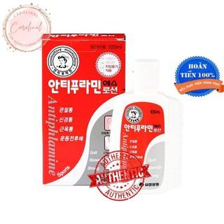 Dầu nóng [Dùng Là Mê_Hàng Auth] Dầu Nóng Hàn Quốc Antiphlamine, Hộp 100ml thumbnail