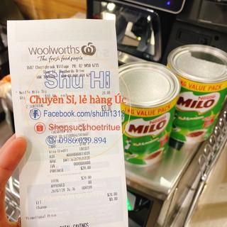 Sữa Milo nội địa Úc hộp 750g, 1kg, 1,25kg thumbnail