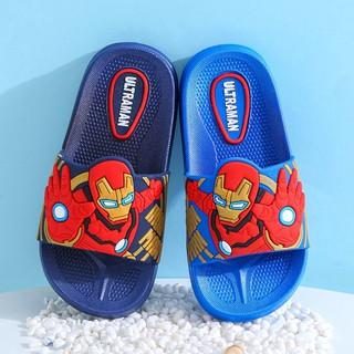 Marvel Dép Xỏ Ngón Họa Tiết Siêu Anh Hùng Iron Man Dễ Thương Cho Bé