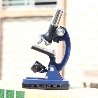Kính hiển vi Datyson 1200x thân kim loại – Xanh lam
