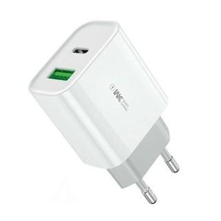 Củ sạc nhanh chính hãng , củ sạc iphone 20W PD + QC3.0 20W WP-U53 hỗ trợ sạc nhanh PD cho iPhone, Quick Charge androi thumbnail
