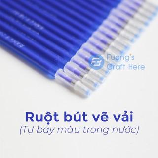 Bút vẽ vải tự bay màu khi gặp nhiêt độ cao (loại ruột bút) thumbnail