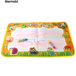 💖Baby Kids Doodle Water Drawing Mat with 2 Magic Pens Educational Toy