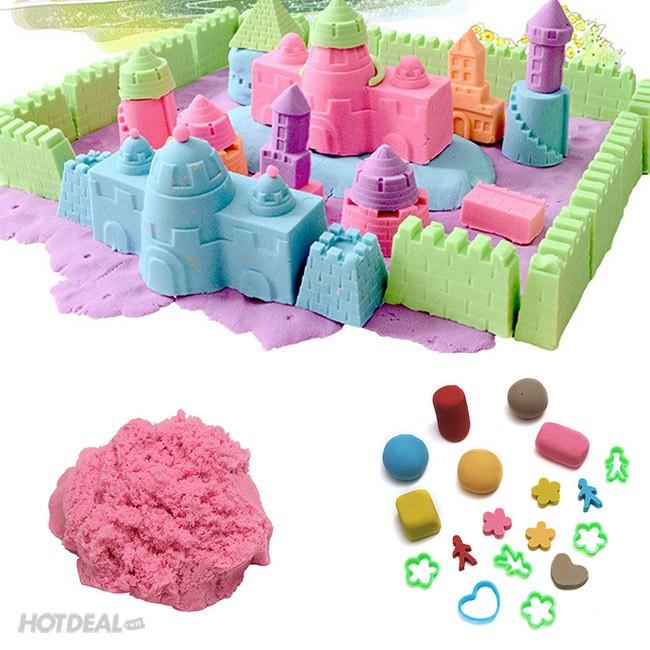 Hộp đồ chơi tạo hình bằng cát động lực cho bé yêu