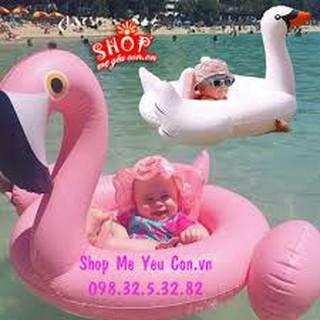 phao tập bơi thiên nga cho bé yêu
