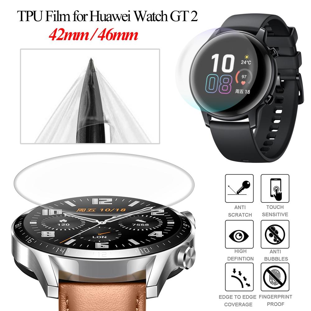 LETTER Shockproof Smart Watch Accessories Clear Bracelet HD Soft TPU Film