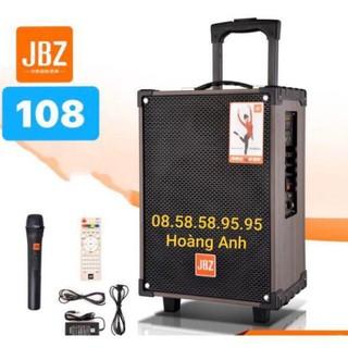 Loa kéo Jbz108.. Bass 2 tấc… Kèm . 2 micro… Kèm sạc..( tặng thêm dây tín hiệu tivi)