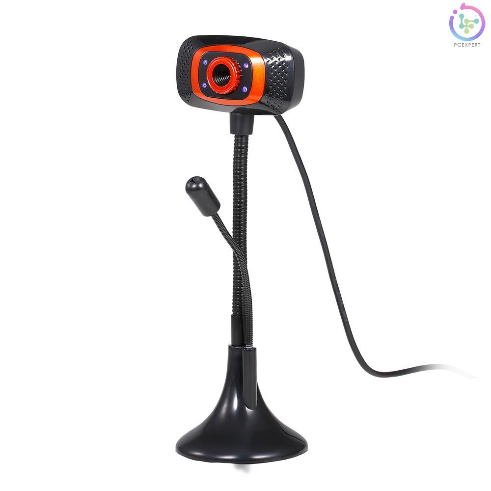Webcam Usb 480p Không Trình Điều Khiển Tích Hợp Micro Cho Máy Tính Laptop