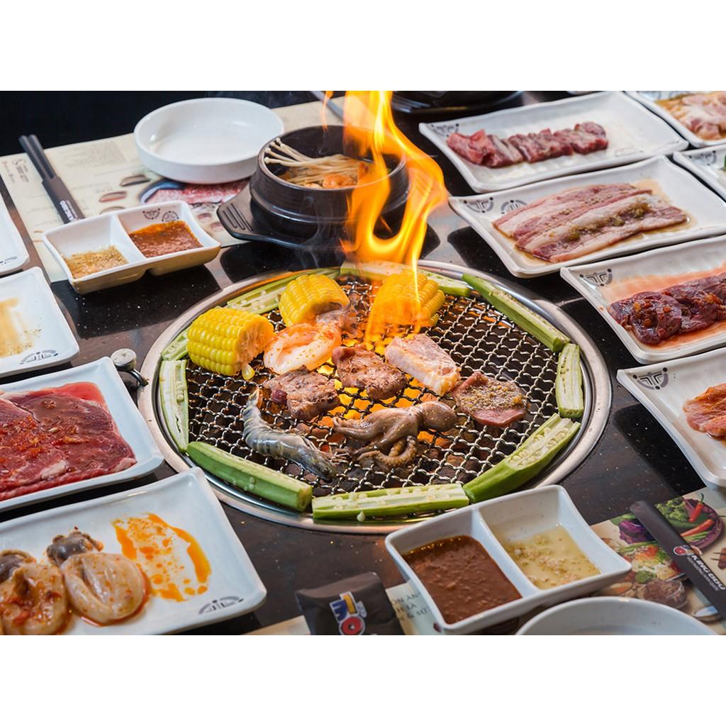 HCM [E-Voucher] Đại tiệc thịt nướng từ Hàn Quốc King BBQ - Buffet Nướng 199k